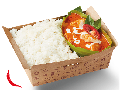 Foto Red Chicken Currry with Rice