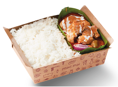 Foto Massaman Chicken Curry with Rice